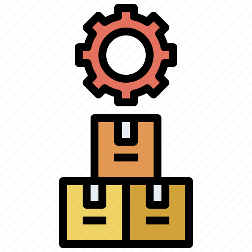 box, business, cardboard, control, delivery, finance, fragile, inventor, package, packaging icon