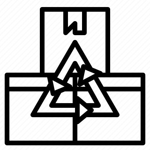 delivery, logistics, product, return, shipping icon