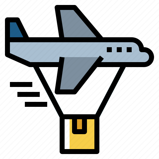 aircraft, airplane, airship, fly, transportation icon