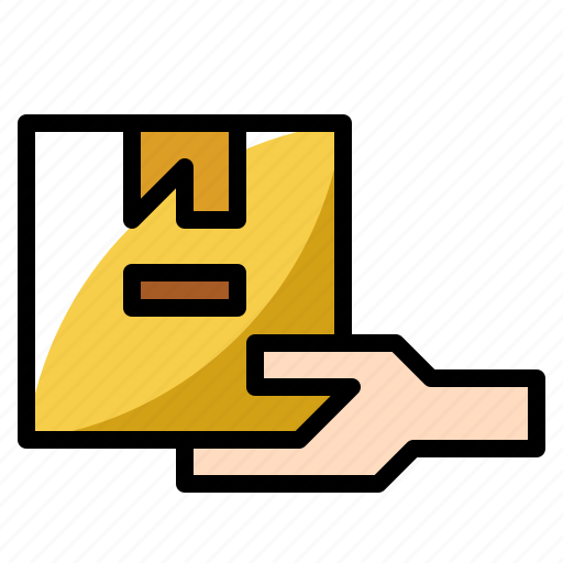 Delivery, goods, package, receive, shipping icon - Download on Iconfinder