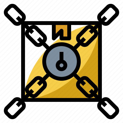 box, customs, delivery, department, security, shipping icon