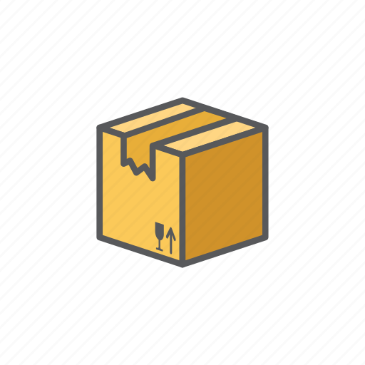 Cardboard, delivery, logistic, package icon - Download on Iconfinder