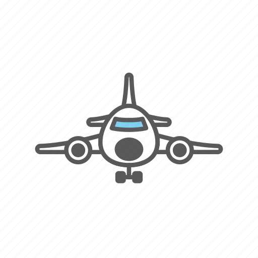 airplane, delivery, logistic, plane icon