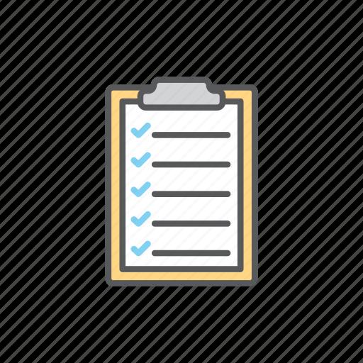 board, checklist, checkmark, logistic icon
