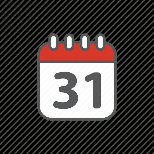 calendar, logistic icon