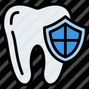 protection, teeth, dental icon