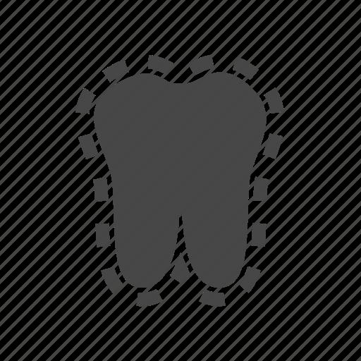 dental, dentist, enamel, enamel teeth, medical icon