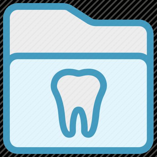 dental, folder, healthcare, stomatology, teeth icon