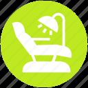 checkup, clinic chair, dental, dentistry, health care, medication