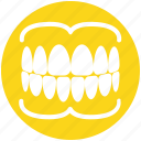 dentistry, gums, oral, care, teeth, dental icon