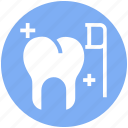 brush, cleaning, dental, dentist, teeth, tooth icon