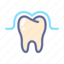 dental, dentist, medical, oral, protection, tooth icon
