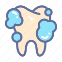 brush, dental, dentist, medical, oral, tooth icon