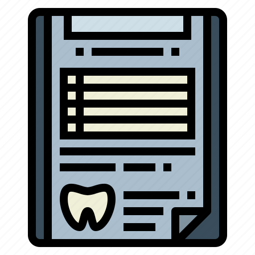 Clinic, health, hospital, medical, report icon - Download on Iconfinder