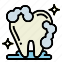 clean, hygiene, medical, tooth icon