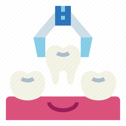 dentist, extraction, medical, tooth icon