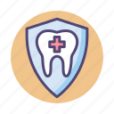dental, dental protection, protection icon