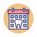 appointment, dental appointment, dentist, dentist appointment icon