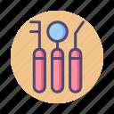 dental equipment, dental tools, dentist, toolkit