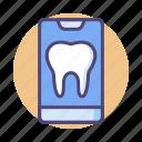 dental app, dentist, dentist app, mobile icon