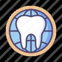 dentist, online, online dental, online dentist icon