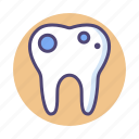 dental, rot, rotten, rotten tooth, tooth