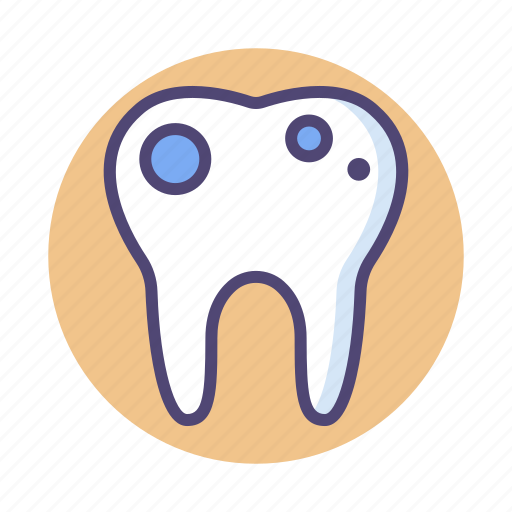 Dental, rot, rotten, rotten tooth, tooth icon - Download on Iconfinder
