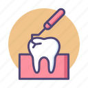 dental, scaling, teeth cleaning, teeth scaling, tooth icon