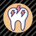 dental, sensitive, sensitive teeth, sensitive tooth, teeth, tooth icon