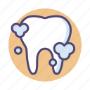 dental, teeth, tooth, whitening icon