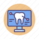 chart, dental, detail, diagnostics, tooth, tooth detail