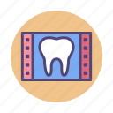 dental, tooth, x ray, xray icon