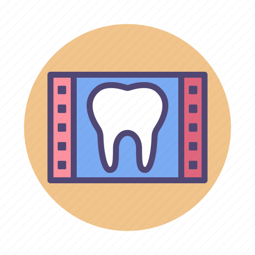 dental, tooth, x ray, xray icon