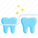 care, clean, dental, floss, health, hygiene, tooth