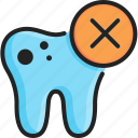 bad, care, decayed teeth, dental, mouth, pain, toothache icon