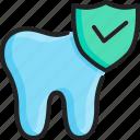 care, dental, good, healthy, hygiene, protect, teeth icon