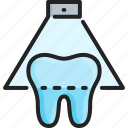 clinic, dental, dentist, laser, medical, treatment, whitening icon