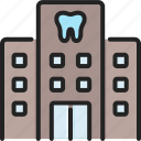 clinic, dental, dentistry, health, healthcare, hospital, medical icon