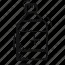 bottle icon, drug, medicine, syrup icon