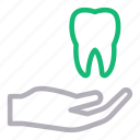 care, dental, oral, protection, teeth icon