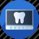 clinic, dental, dentist, doctor, medical, radiology, x-ray icon