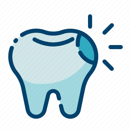 caries, cavity, dental care, dentist, health, hole, tooth icon