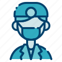 clinic, dental care, dentist, doctor, health, profession, tooth icon