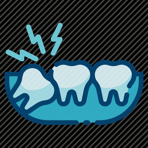 dental care, dentist, dentistry, health, stomatology, tooth, wisdom teeth icon