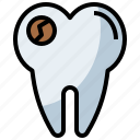 clear, dental, dentist, healthcare, medical, molar, premolar, teeth, tooth icon