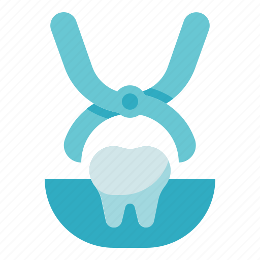 clinic, dental care, dentist, extraction, forceps, health, tooth icon