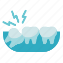 dental care, dentist, dentistry, health, stomatology, tooth, wisdom teeth icon