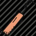 dental dentist, surgery probe, tool icon icon