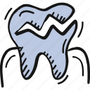 dental, dentist, teeth icon, tooth