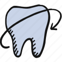 health, pain, teeth, tooth icon